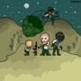 Pixel soldiers by Miroko