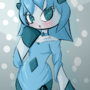 Humanized Glaceon