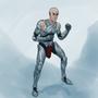 Super Bald Armor Man