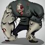 Hulking Zombie. by KeltsGrizz