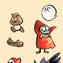 Mario Baddies by J-Nelson