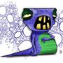 Slug Monster by kaazi