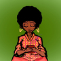 Afro girl by Technox17