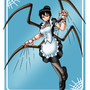 Commission_Spider-maid by Evil-Rick