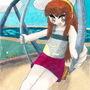 terra on the swing