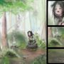 Forest Girl with Details