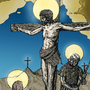 The Crucifixion by Lowgan