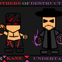 WWE Brothers of Destruction! by redsundark