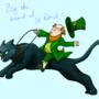 Leprechaun's Steed by Trollfriend