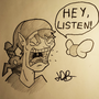 HEY LISTEN! - Ink by EmuToons