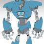 Big Ass Robot by spitfirepirate