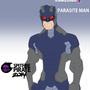 Parasite Man by spitfirepirate