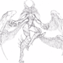 Garuda Sketch by Mahjix
