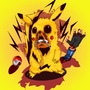 Pikachu Angrily by MAKOMEGA