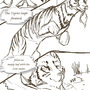 The Turtle and The Tigress 11 by ezekielxii
