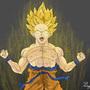 Goku by gregoryjramos