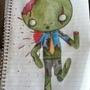 my little zombie by bloodylie