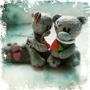 teddy bear love by vladjuk