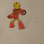 Mega-Iron Man by redonion