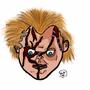 Chucky Strikes Again! by Sketchster