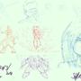 Random sketch 26 03 2014 by SpanglishHorse
