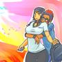 True Hug ,True love by Alef321