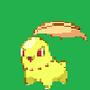 Angry Shiny Chikorita by david51618
