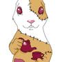 Zombie bunny by Manshink