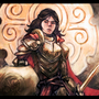 Knight Lady Illustration