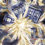 Commission: Van Gough Tardis by ReuzakeX