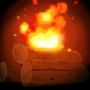 Pixel fire by olive6608