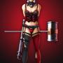DC Girls - Harley Quinn by illustrationoverdose