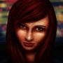 Night girl by VerdRage