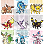 Eeveelution Pokemon by LovelyKouga