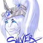 Silverheart :COMM: by Kunachi