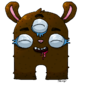 Brown Monster by olive6608