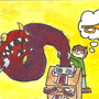 Faxing a monster by AtlasRoastBeef