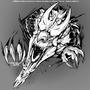 Breaking out - Welsh dragon by Freyaloi