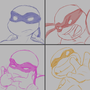 TMNT - Four of a Kind by LeeJayAnimation