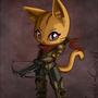 The Littlest Demon Hunter by Phoenix-Conrad