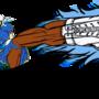 Chun-Li Kicking Ahead! by KCampbell499