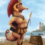 THU-Gladiator Seahorse by Dahlia-K