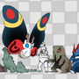 Monster Line Up (WIP) by Soapmonster