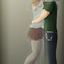 Lonely Hug by PKShayde