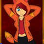 Ember Fox Hoodie by Plazmix
