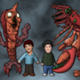 Drake & Josh Really Big Shrimp by NAveryW