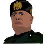 Benito Mussolini by Pedochu
