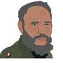 Fidel Castro by Pedochu
