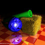 Green Tube on Hey With Ball by RaccoonRat