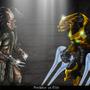 Elite VS Predator by Blud-Shot